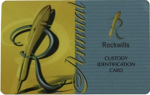 Identification Card - Front